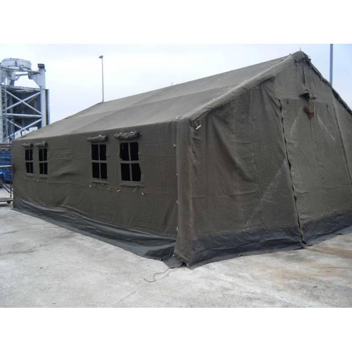 Tente militaire hangar de toile de 45 m sorem occasion destockage discount - Vide hangar materiel agricole occasion ...