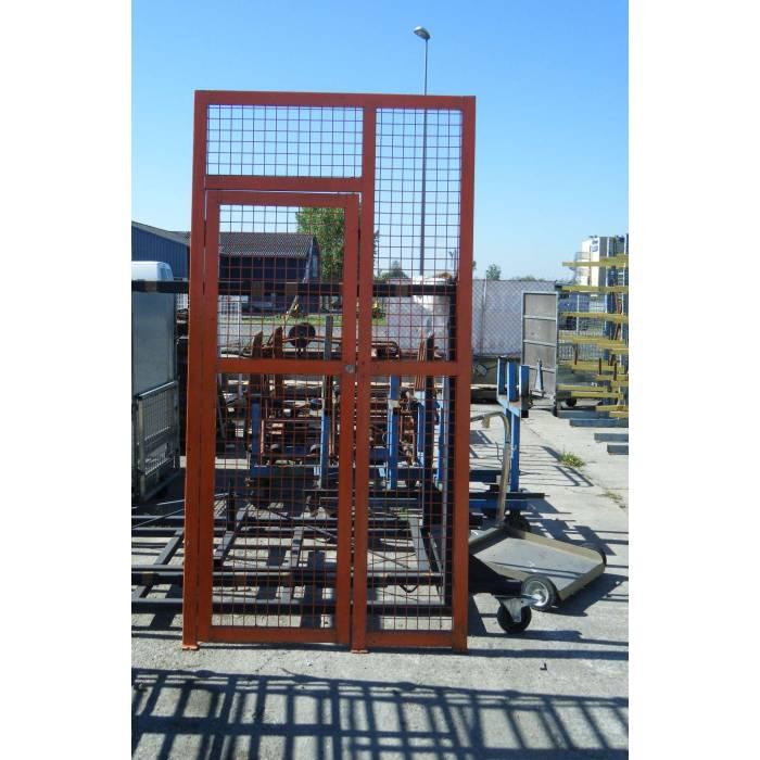 Porte grillagee avec cadre sorem occasion destockage discount for Porte interieure avec cadre